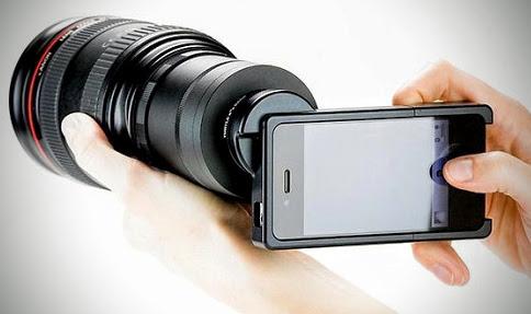 Provare le sensazioni di una fotocamera reflex sul proprio smartphone